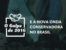 Imagem do curso O Golpe de 2016. Clique para acessar a página principal do curso.
