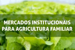 Imagem do curso Mercados Institucionais para a Agricultura Familiar. Clique para acessar a página principal do curso.