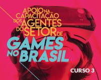 Imagem do curso C3 - Internacionalização no Setor de Games. Clique para acessar a página principal do curso.