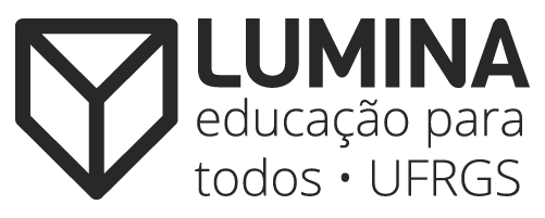 Logo Lúmina Educação Para Todos UFRGS